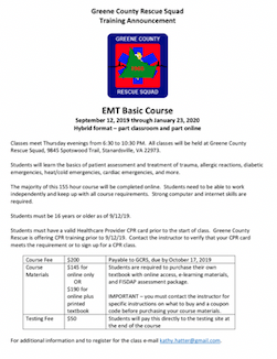 EMT CLASS